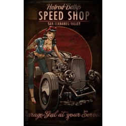 Rumble 59 Poster - Hotrod Betty's Speed Shop