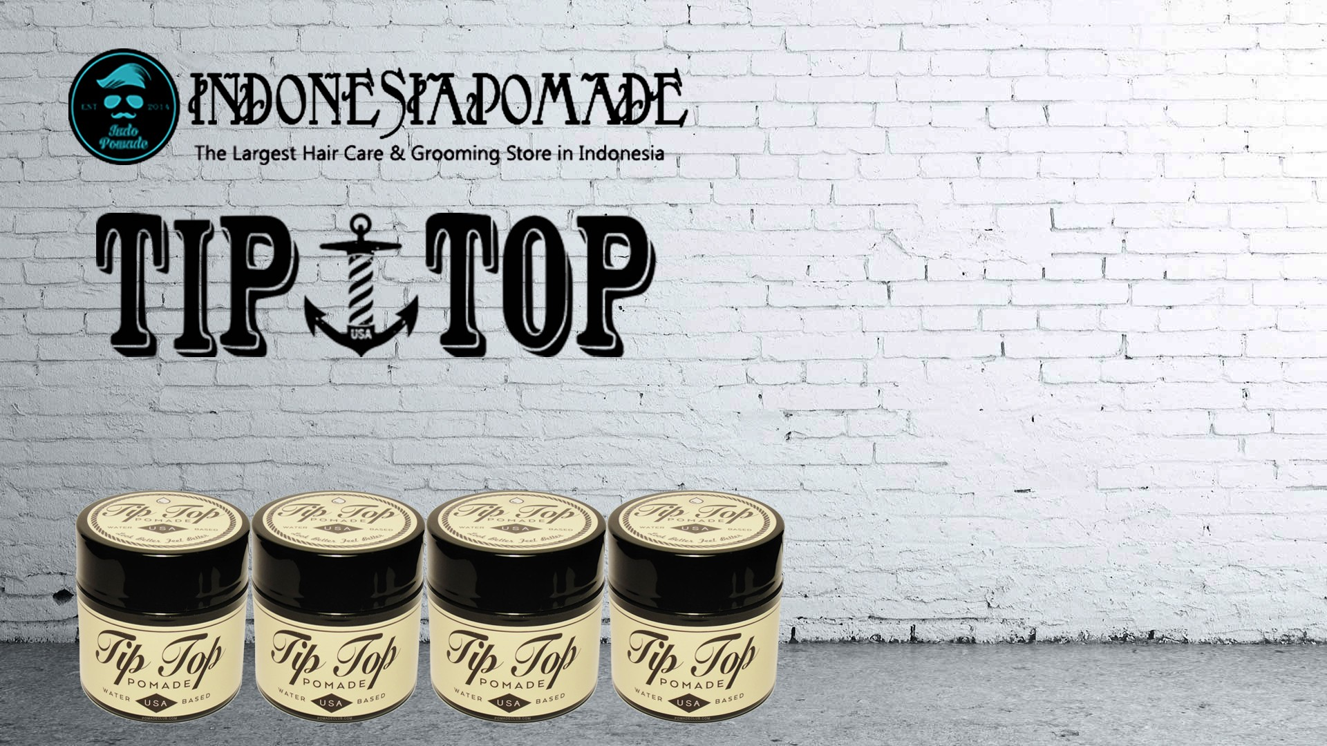Tip Top Pomade 4.25 oz